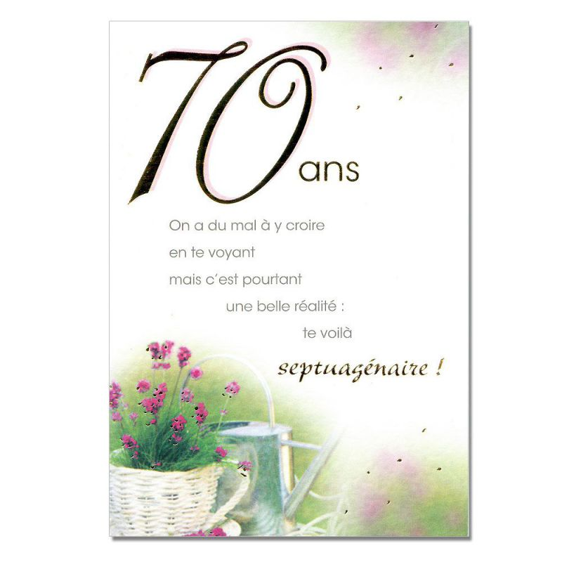 cartes mots du bonheur anniversaire 70 ans une carte pour toi. Black Bedroom Furniture Sets. Home Design Ideas