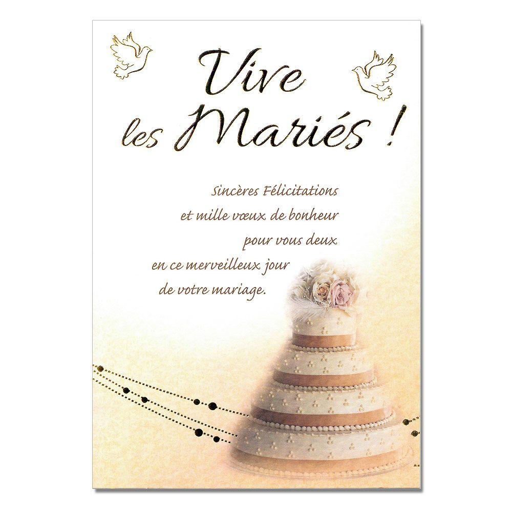 cartes mots du bonheur mariage pice monte - Mot Flicitation Mariage