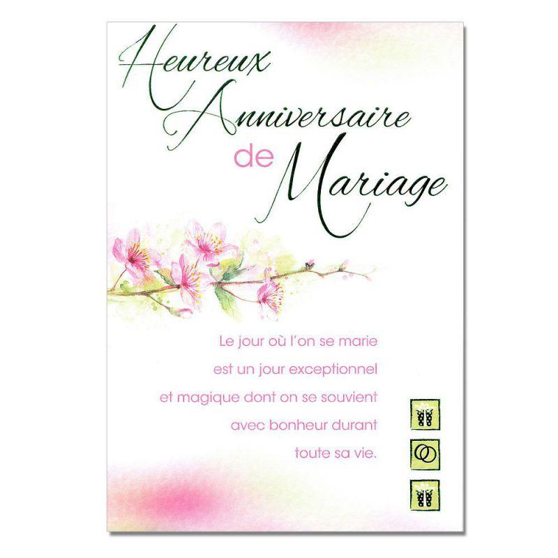 cartes mots du bonheur anniversaire de mariage une carte pour toi. Black Bedroom Furniture Sets. Home Design Ideas