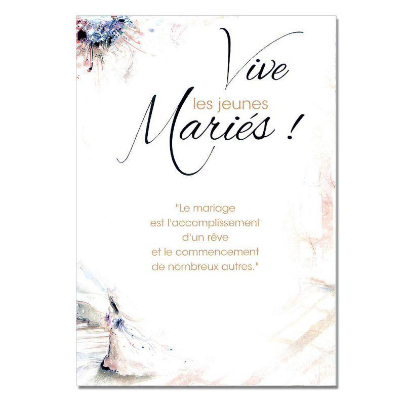 Cartes mots du bonheur mariage jeunes mari s une carte - Texte felicitation mariage humour ...