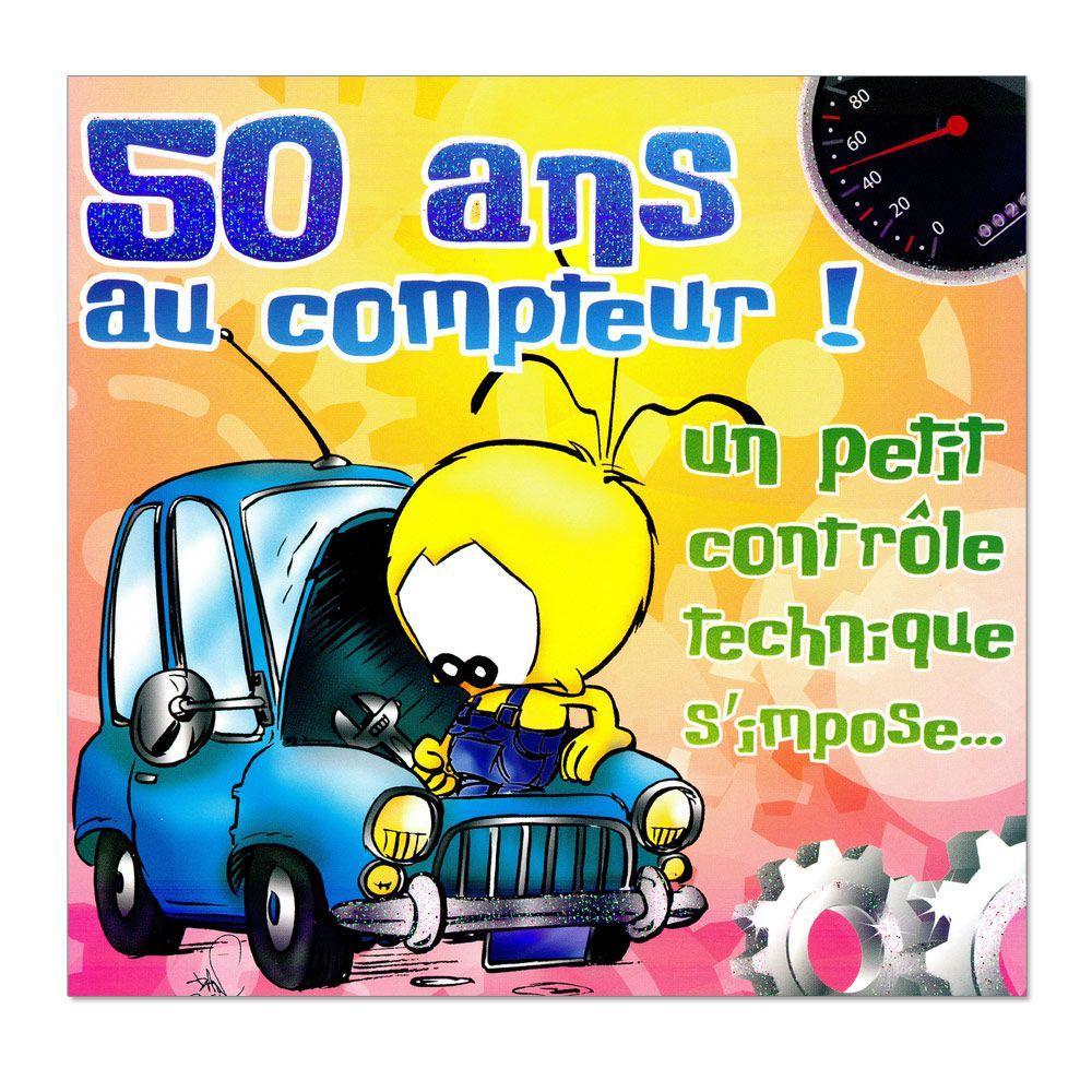 Bon anniversaire 50 ans