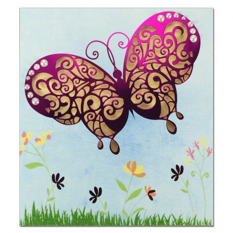 Carte Toutes occasions Prestige Papillon