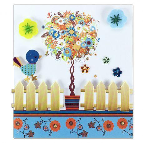 Carte Toutes occasions Arbre de fleurs